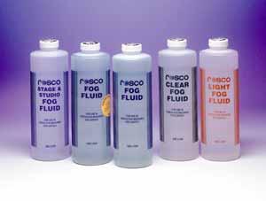 Rosco Clear Fog Fluid, Liter