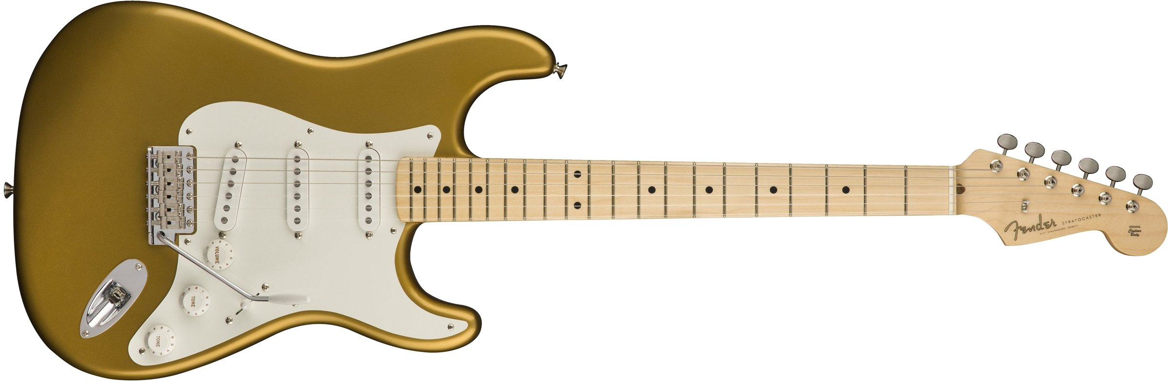 Fender American Original '50s Stratocaster Electric Guitar with Maple Fingerboard STRAT-AMORG-50-MN