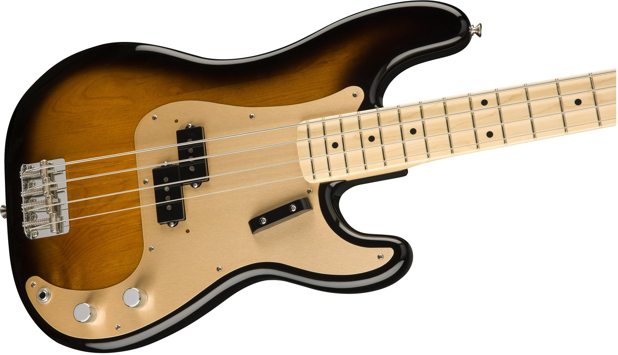 fender pbass amorg 50 mn2sb 4 string precision bass guitar with maple fingerboard full compass. Black Bedroom Furniture Sets. Home Design Ideas
