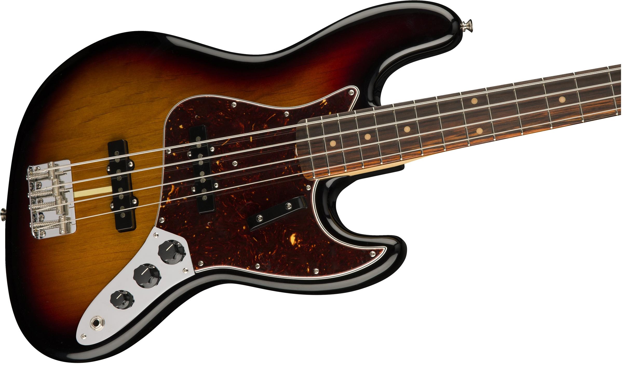 Fender JBASS-AMORG-60-RW American Original '60s Jazz Bass with Rosewood Fingerboard JBASS-AMORG-60-RW