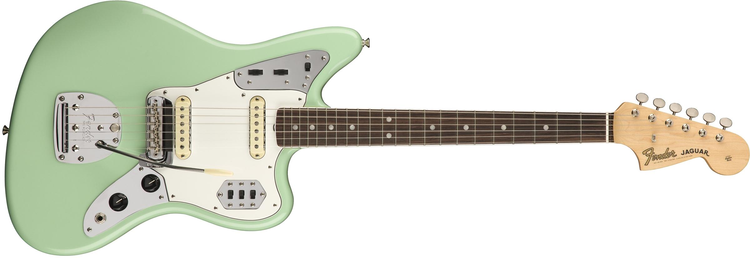Fender JAGUAR-AMORG-60-RW American Original '60s Jaguar Electric Guitar with Rosewood Fingerboard JAGUAR-AMORG-60-RW