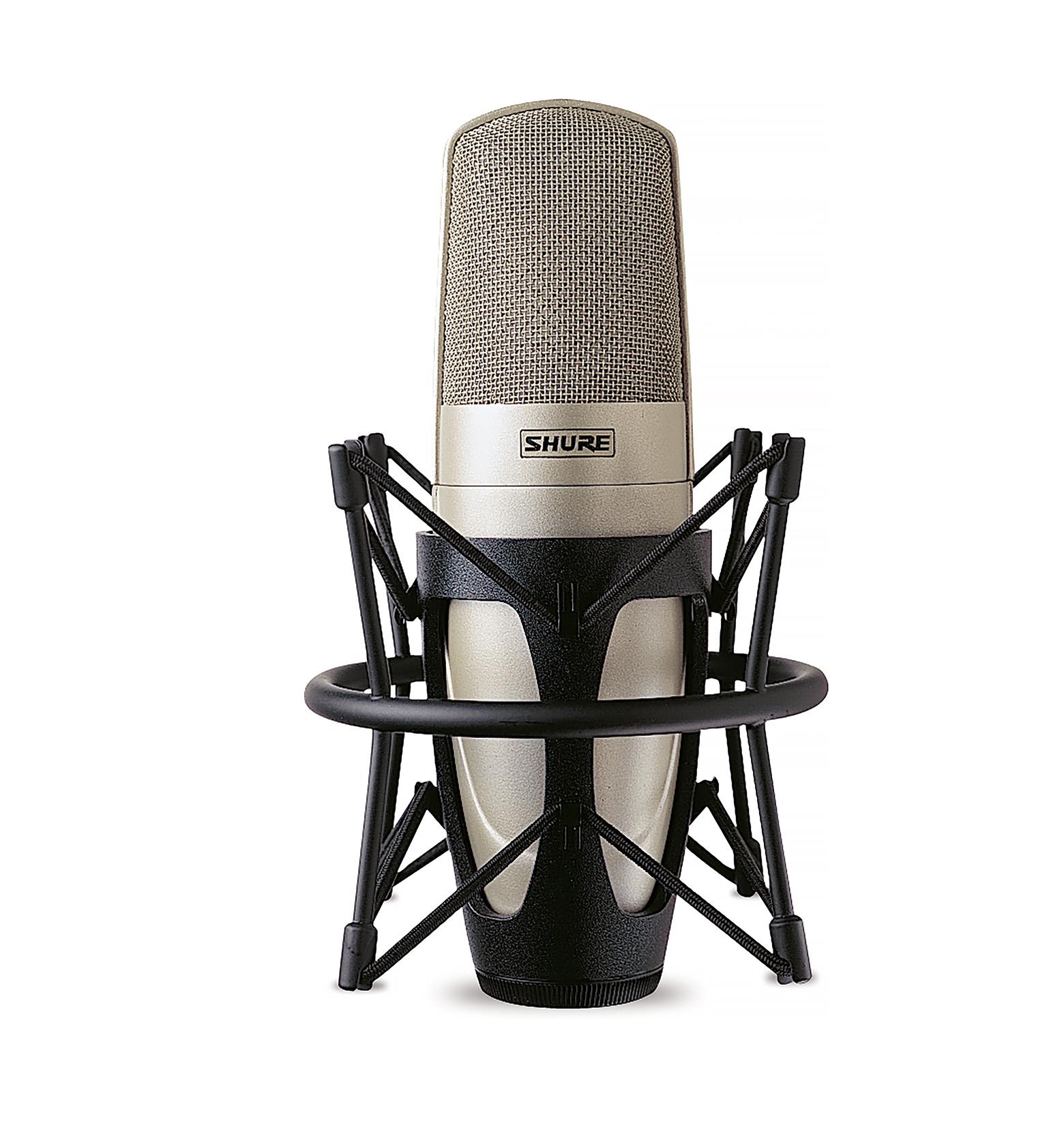 Studio Condenser Microphone, Champagne finish