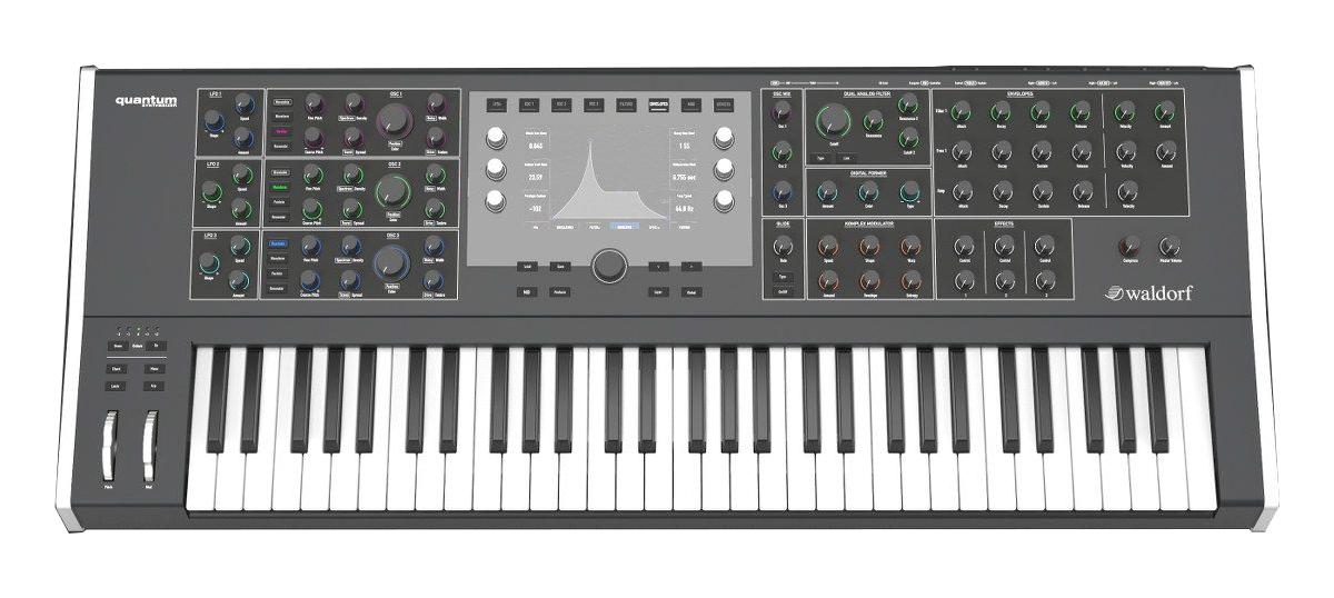 Waldorf Music Quantum Digital Analog 8-Voice Hybrid Synthesizer  QUANTUM-WALDORF