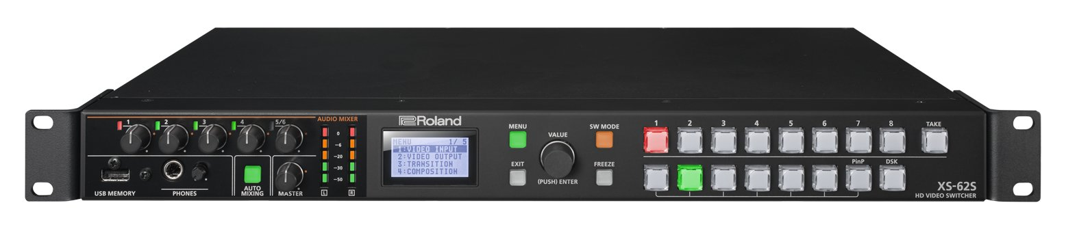 Roland System Group XS-62S  HD Video Switcher XS-62S