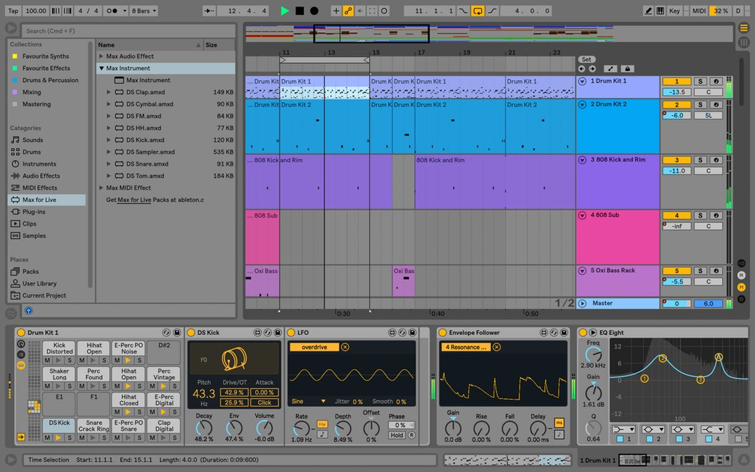 Ableton LIVE-10-INTRO Boxed Live 10 Intro Software | Full Compass