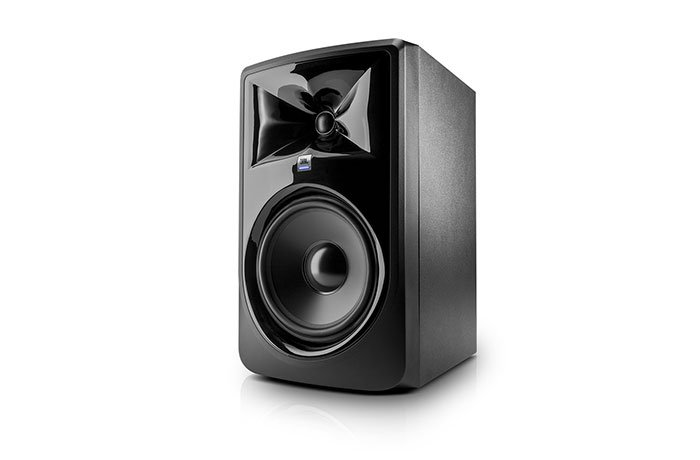 jbl 308pmkii powered studio monitor with 8 inch woofer full compass. Black Bedroom Furniture Sets. Home Design Ideas