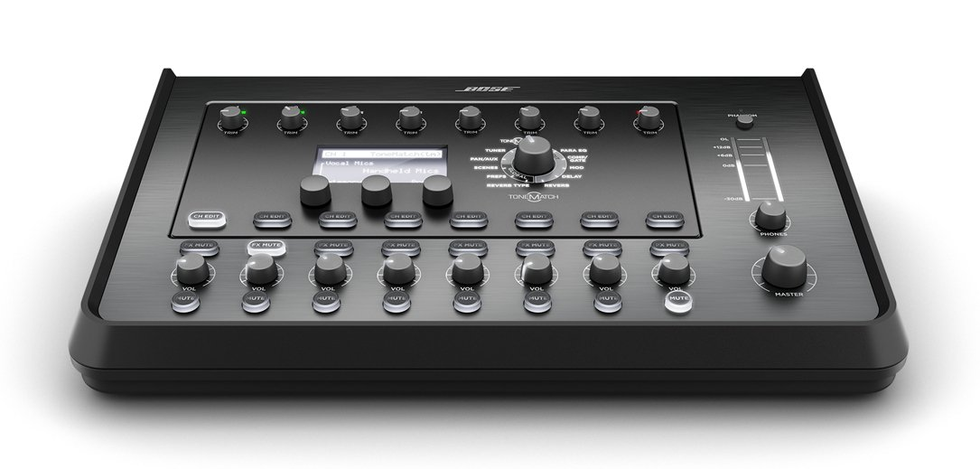 bose t8s tonematch mixer 8 channel mixer interface full compass. Black Bedroom Furniture Sets. Home Design Ideas