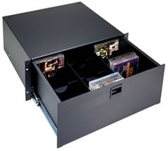 Middle Atlantic Products DVDP DVD Drawer Partitioner Option for 40 DVD discs, For D4, TD4, UD3 DVDP