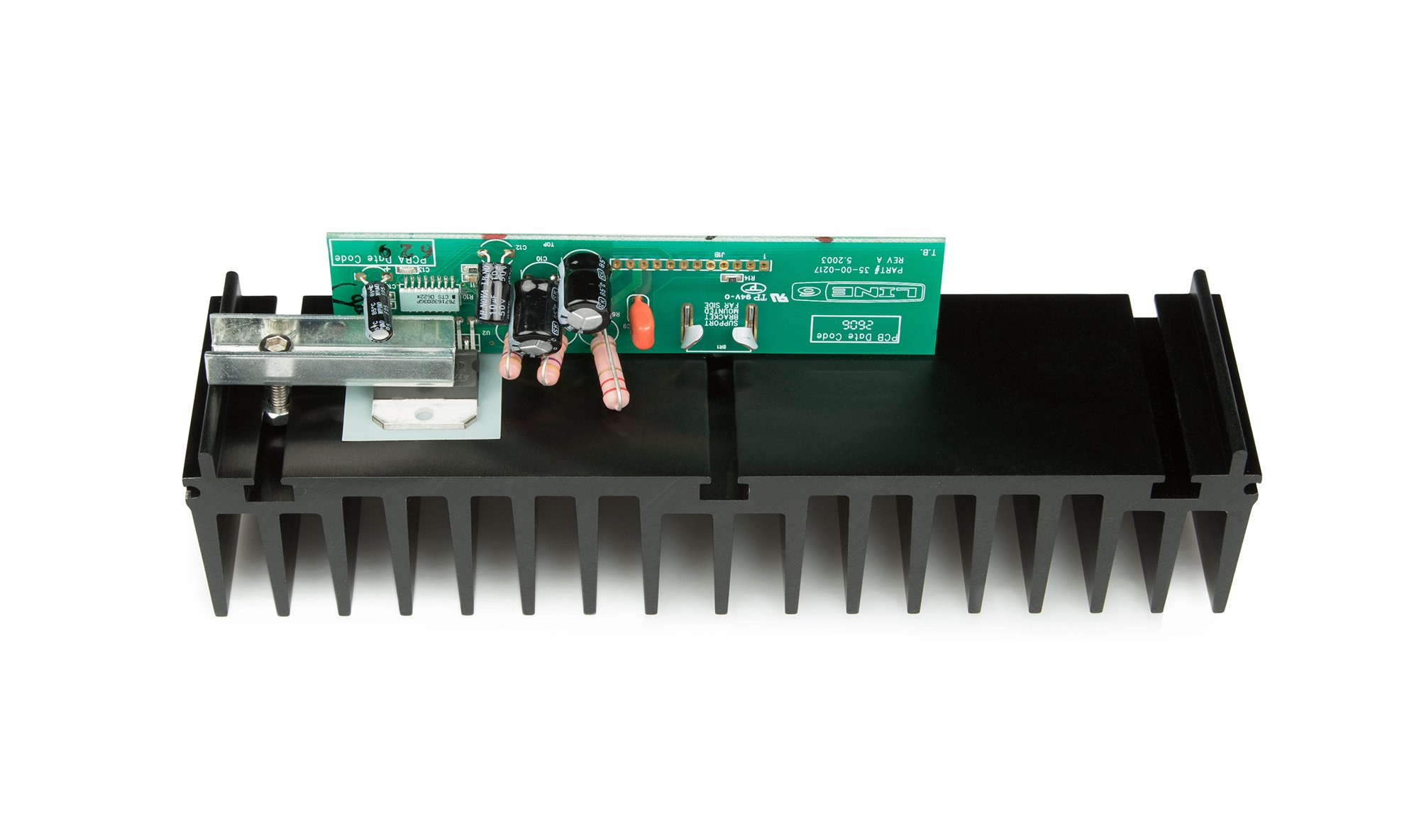 Line 6 50-02-0217-1 Amp with Heatsink PCB Assembly for Spider III 112 50-02-0217-1