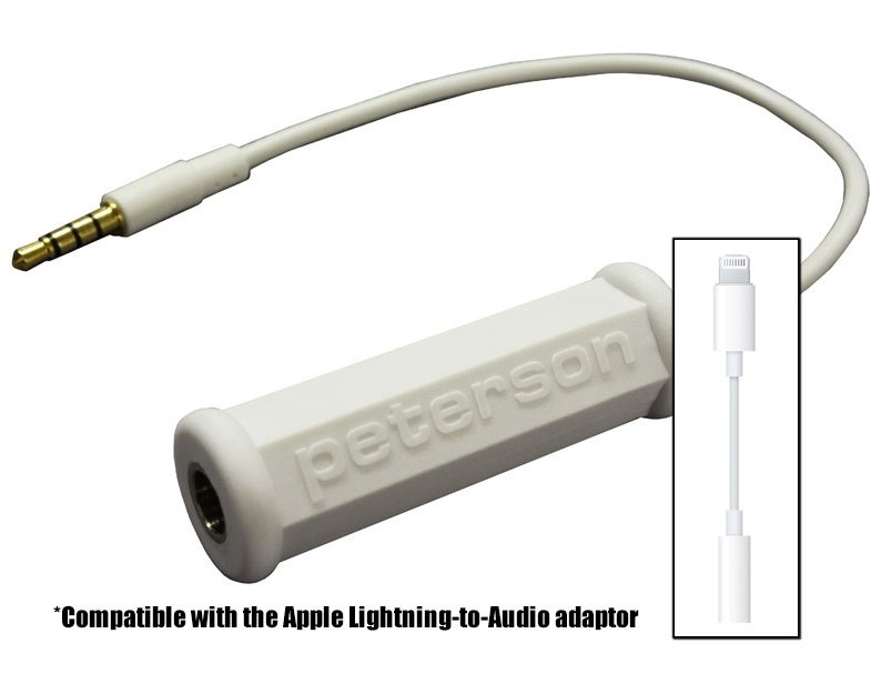 Peterson Tuners 403871 Adaptor Cable for iPhone/iPod Touch 403871
