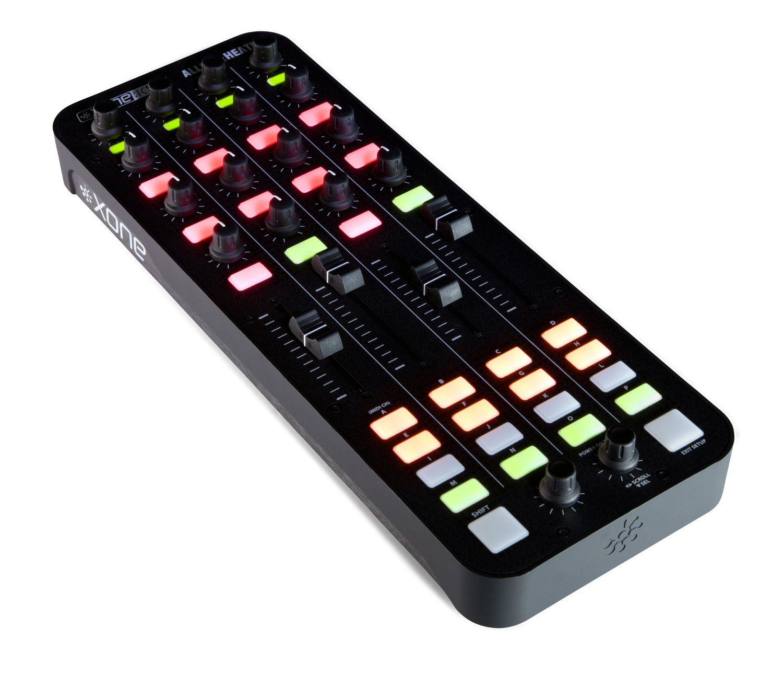 Allen & Heath-Xone Xone:DB4 / Xone:K1 / Case Bundle DB4 4-Channel DJ Mixer with K1 Controller and Case DB4-PK1-K