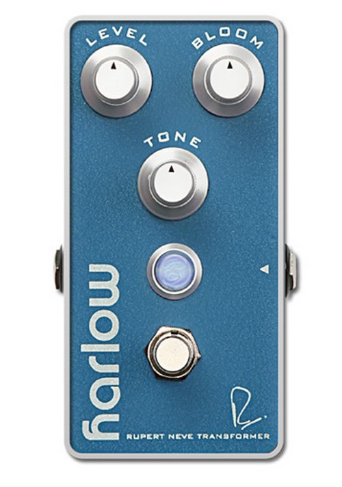 Bogner Harlow Boost Pedal with Bloom Control and Neve Transformer HARLOW