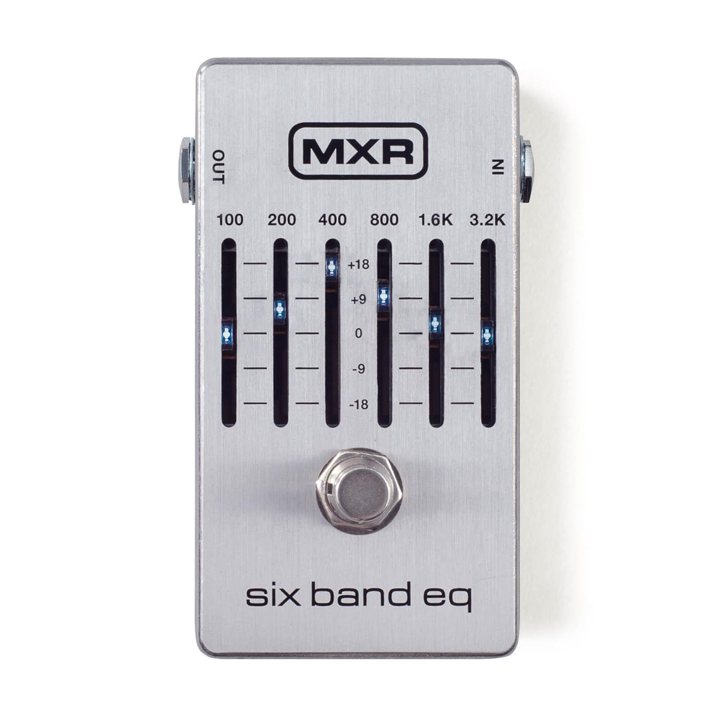 MXR Pedals M109S Six Band EQ Pedal M109S