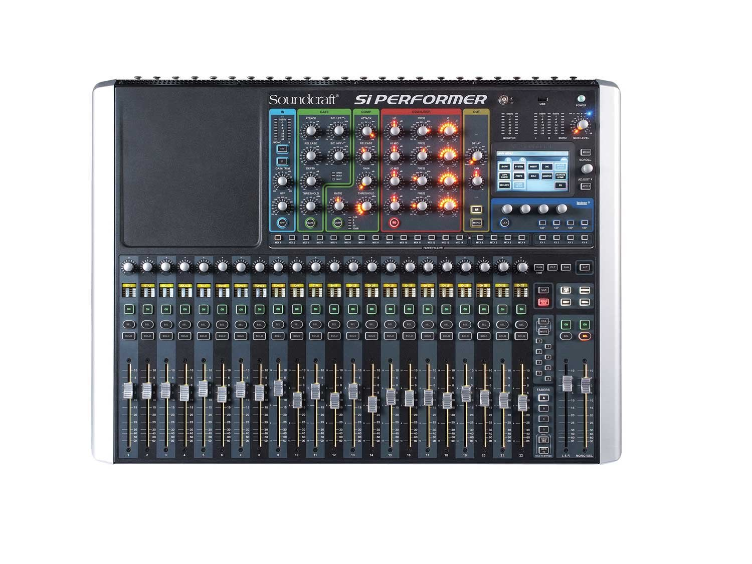 soundcraft si performer 2 rst 2 24 channel digital mixer full compass systems. Black Bedroom Furniture Sets. Home Design Ideas