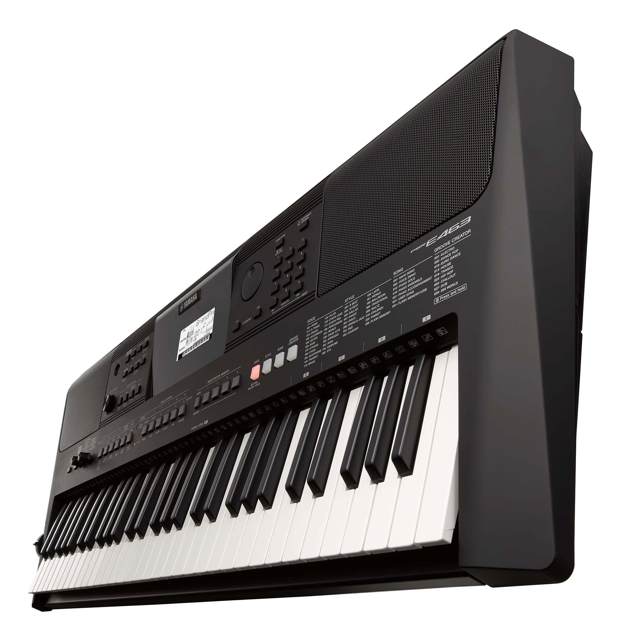 Yamaha PSRE463 61-Key Portable Keyboard | Full Compass Systems