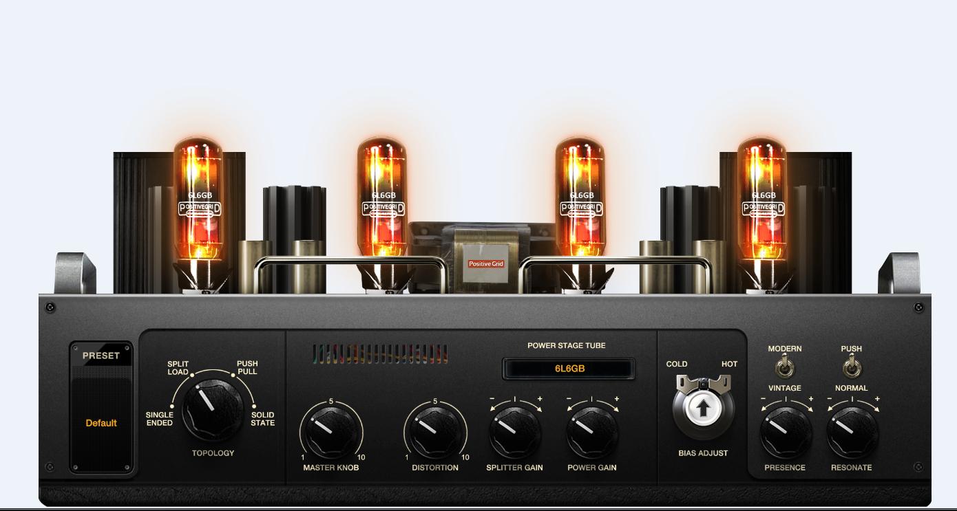 positive grid bias amp bias amp 2 download guitar amp modeler full compass systems. Black Bedroom Furniture Sets. Home Design Ideas