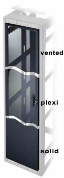 Plexi Front Door for 12-Space Rack