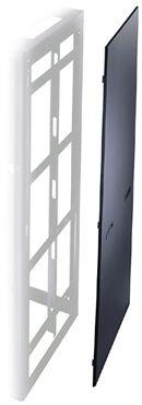 """Pair of Side Panels/Black 44-space 31-3.2"""" deep"""