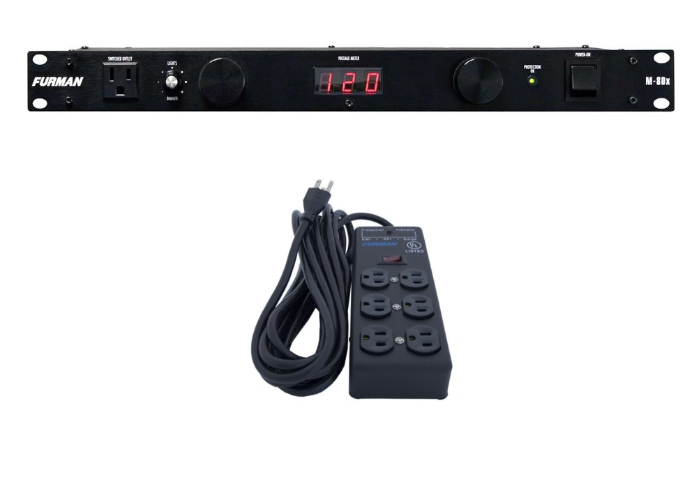 Furman Power Conditioner Surge Protector 15 Foot Power Cord Model SS6B
