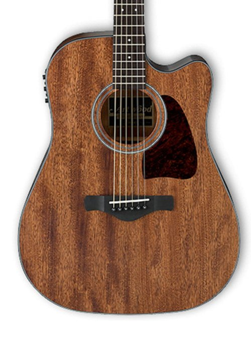 ibanez aw54ceopn open pore natural artwood series dreadnought cutaway acoustic electric guitar. Black Bedroom Furniture Sets. Home Design Ideas
