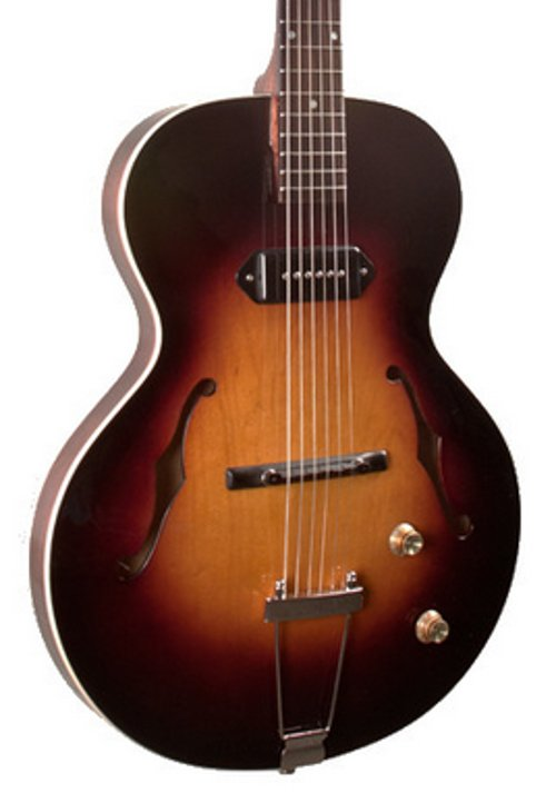 the loar lh 301t vintage sunburst thinbody archtop acoustic electric guitar full compass systems