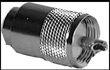 Type PL-259 Male UHF Connector (for RG8, 9, 10, 11, 12 and 13/U cables, Not Packaged)