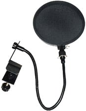 "Pop Filter with 15"" Gooseneck"