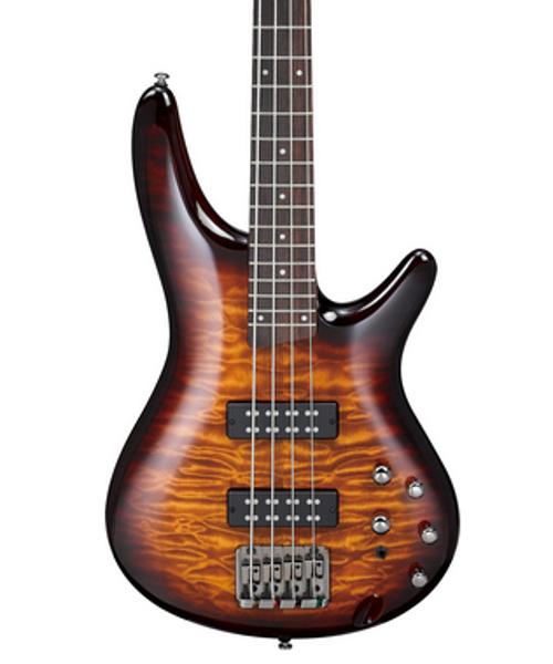 24 Fret Guitar : ibanez sr400eqm 4 string bass guitar 24 fret rosewood fretboard with white dot inlay full ~ Hamham.info Haus und Dekorationen