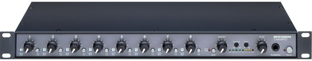 Bogen Communications CAM8-PRO Mixer Preamplifier CAM8-PRO