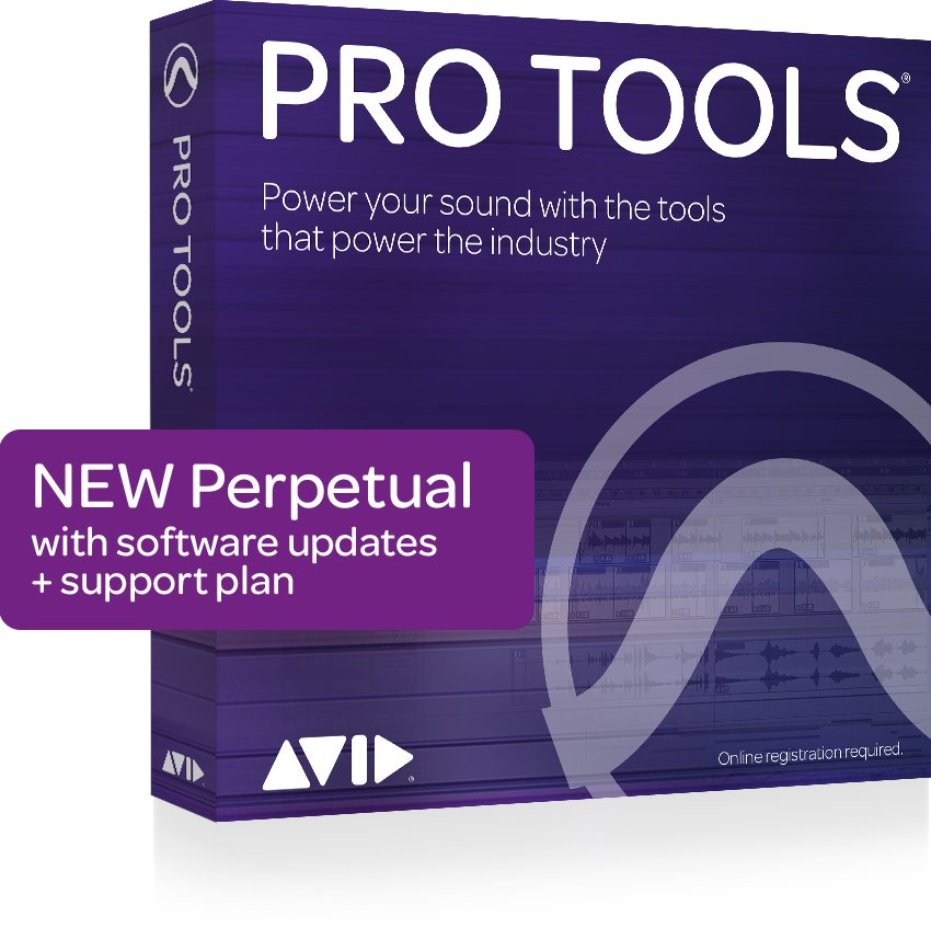 Avid Pro Tools Perpetual License (Box) Professional DAW Software | Full  Compass