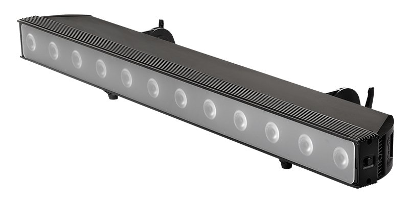 Martin Pro Rush Batten 1 Hex 12x12 Rgbaw Uv Led Batten Fixture With Pixel Control Full Compass Systems