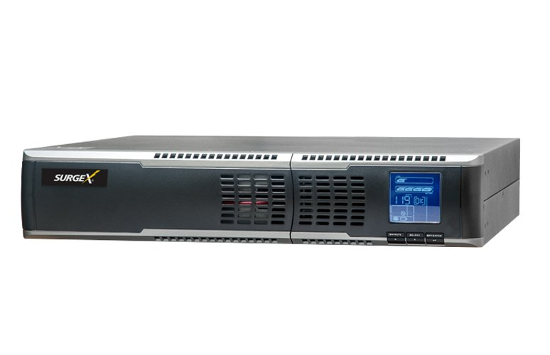 SurgeX UPS-1000-OL 2RU 1000VA Online Battery Backup with 6x 15A Outlets |  Full Compass