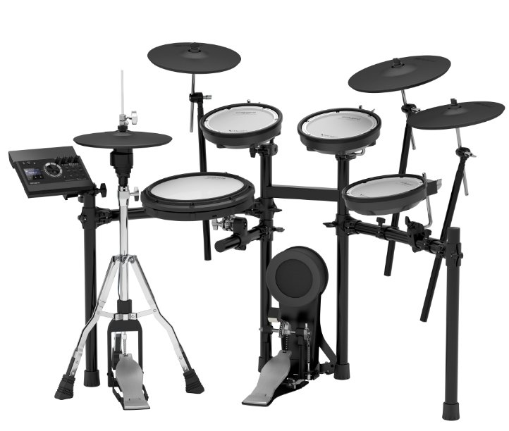 Roland Td 17kvx S 5 Piece Electronic Drum Kit With Mesh Heads And 4