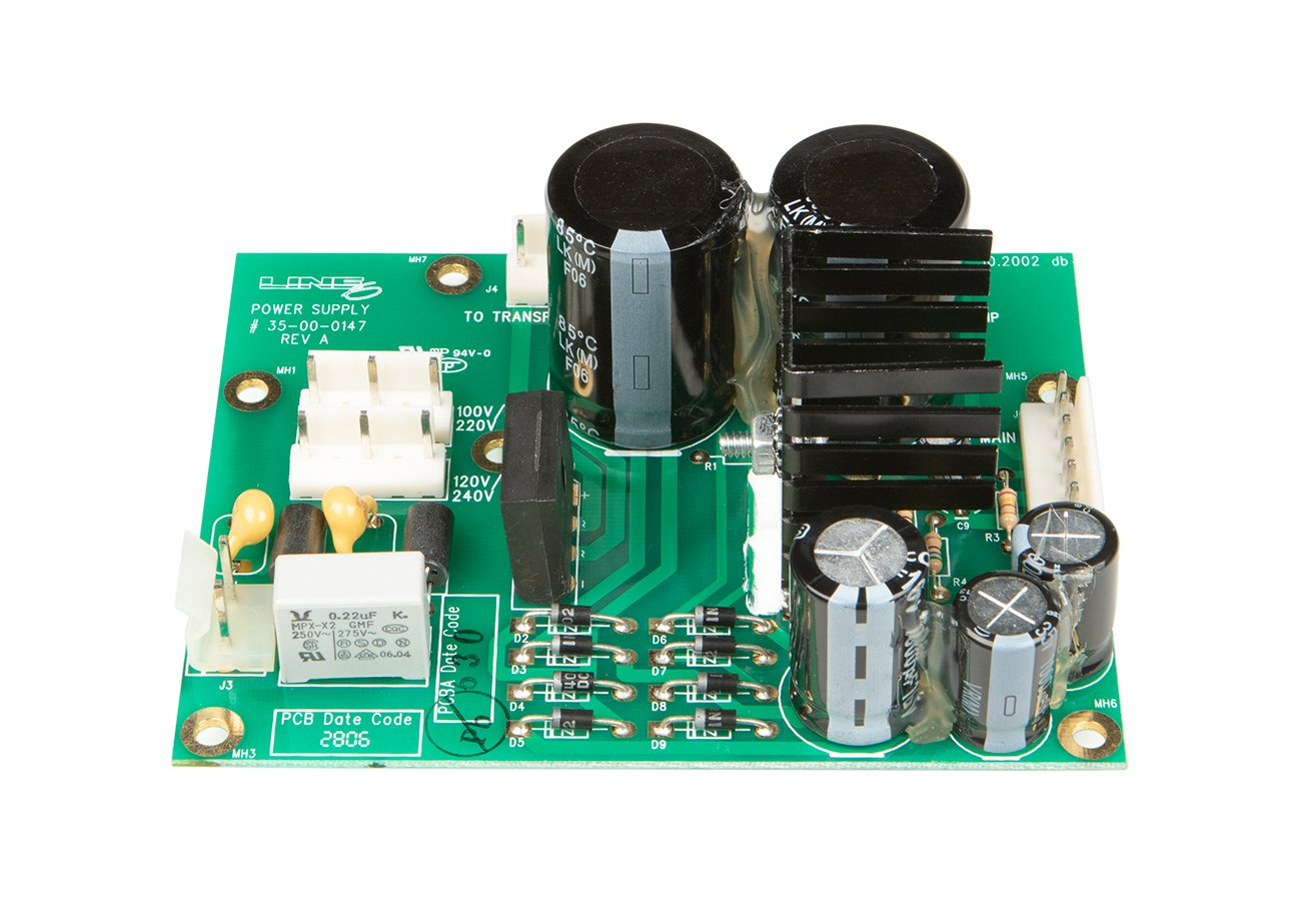line 6 50 00 0147 power supply pcb for flextone iii full compass systems. Black Bedroom Furniture Sets. Home Design Ideas