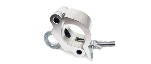 Heavy Duty Wrap-Around Clamp with Eyebolt for 50mm Tubing