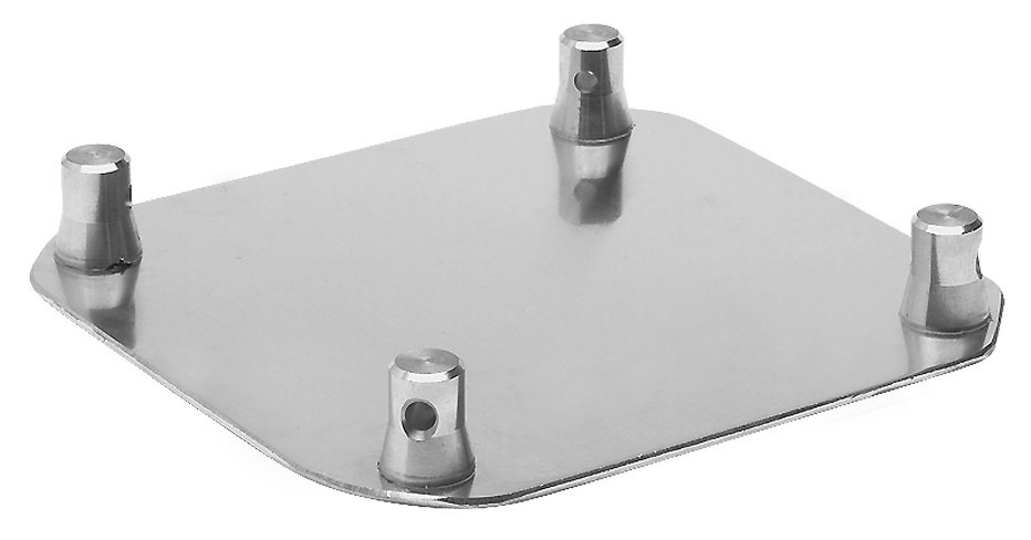 "12"" x 12"" Aluminum Base Plate for Square Truss"