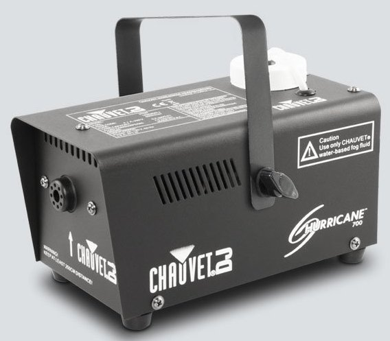 chauvet dj h700 compact water based fog machine with 1 500 cfm output full compass systems. Black Bedroom Furniture Sets. Home Design Ideas