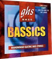 Medium Bassics Standard Long Scale Electric Bass Strings