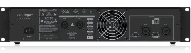1000 Watt Power Amplifier by Behringer, NX1000   Full