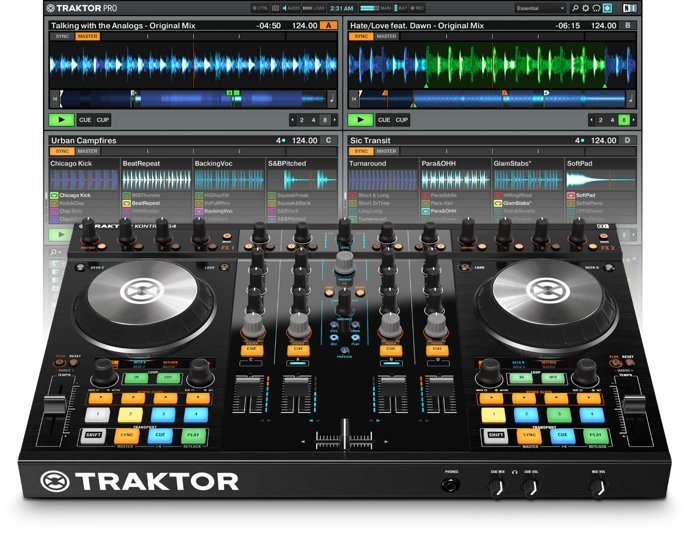 Native Instruments TRAKTOR-KONTROL-S4-2