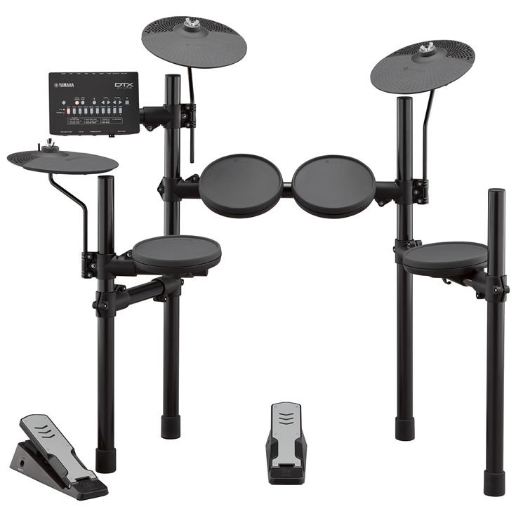 Yamaha DTX402K 5-Piece Kit With Rubber Pads And DTX402