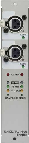 AES/EBU Input Module f/S4000