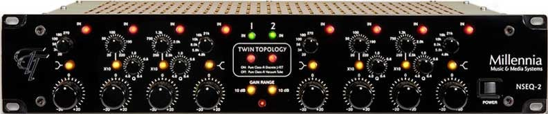 Tube Parametric Equalizer, Two Channel