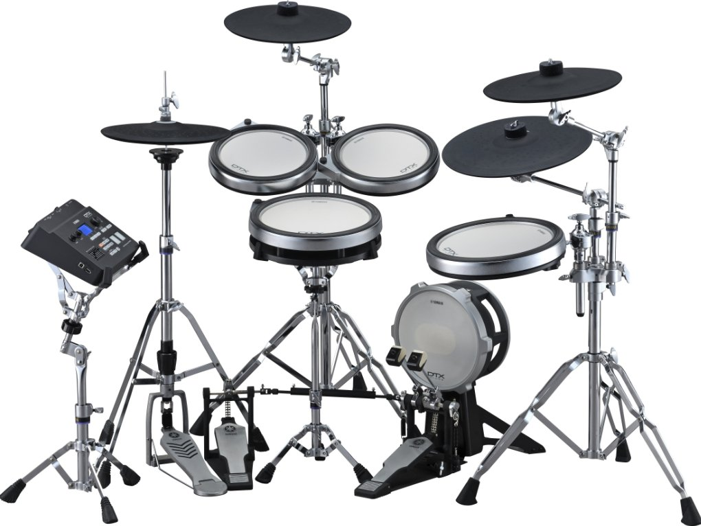 Yamaha DTX760HWK 5-Piece Kit With TCS Snare And Tom Pads, 3