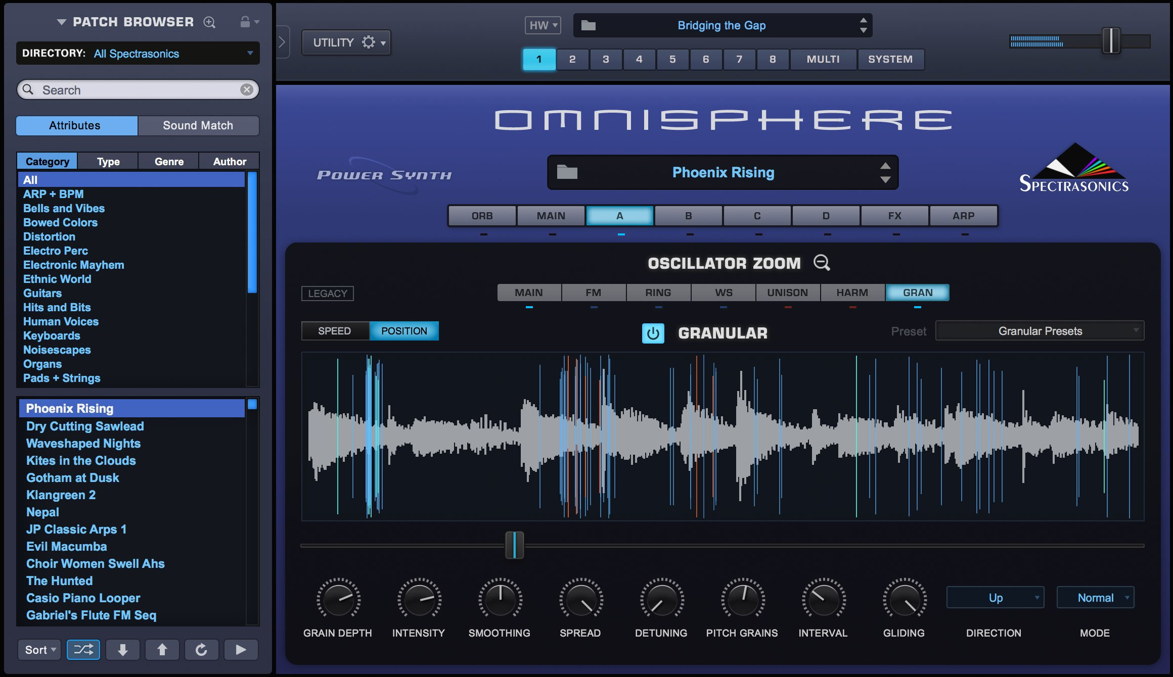Spectrasonics OMNISPHERE-2 Omnisphere 2 Virtual Synthesis Instrument