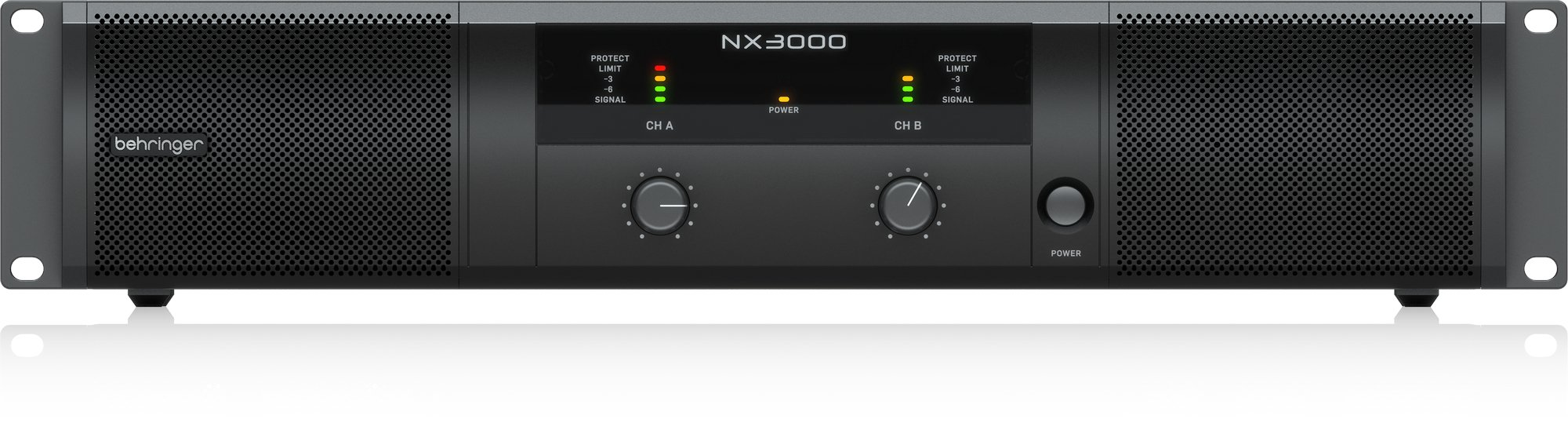 Behringer NX3000 2-Channel Power Amplifier, 900W At 4 Ohm