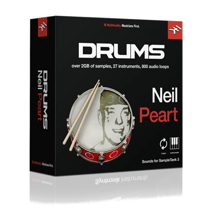 IK Multimedia ST3-NP-DRUMS Loops & Kits of Neil Peart [download]   Full  Compass
