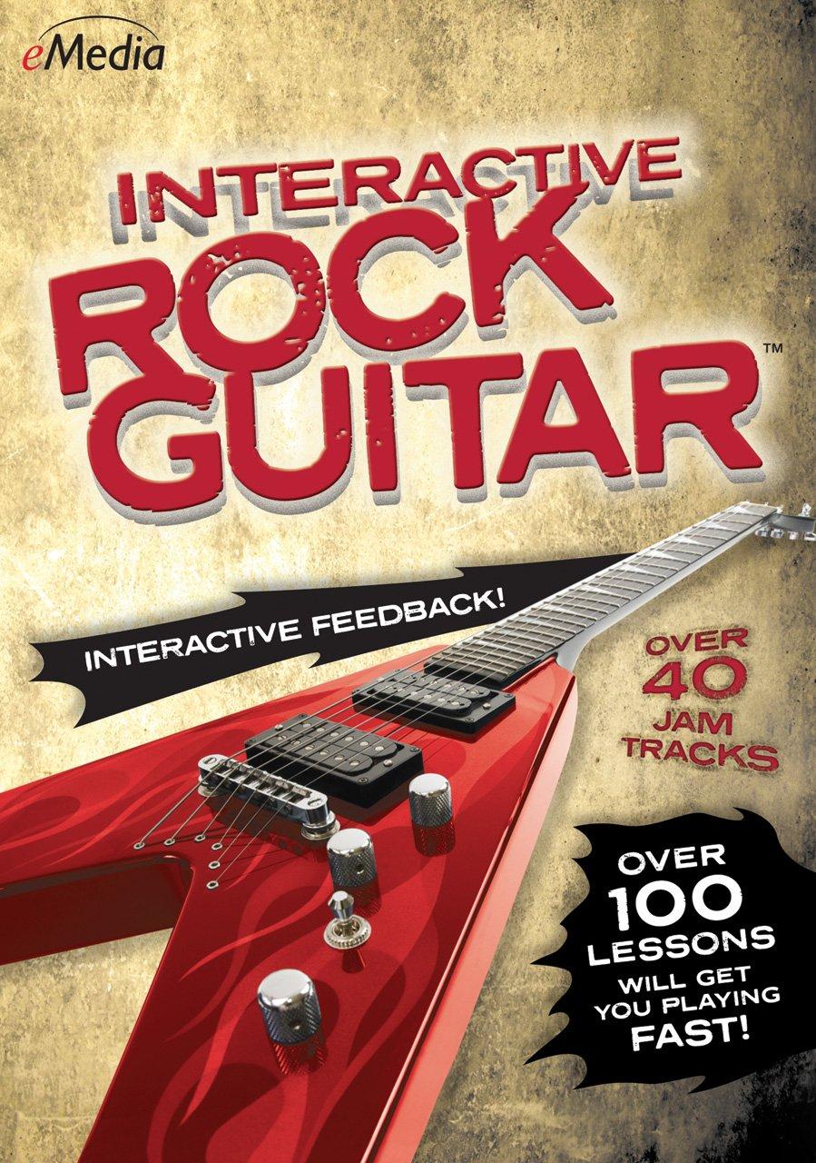 Interactive rock guitar [download] by emedia, interactive-rk-gtr.