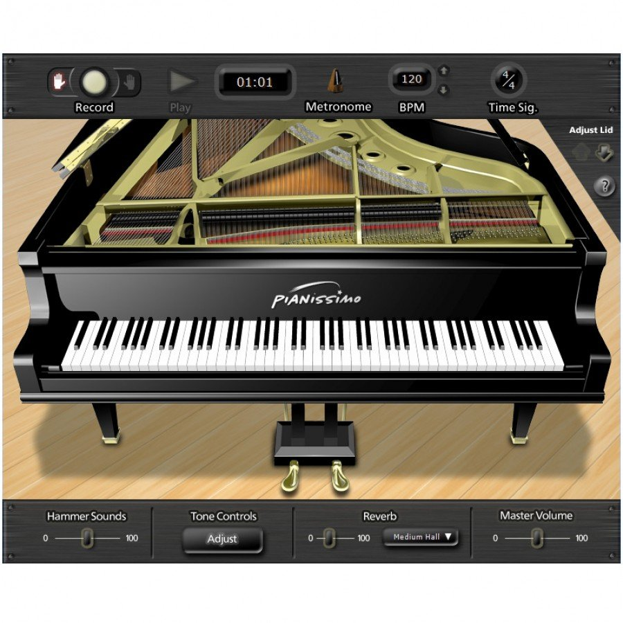 Acoustica Pianissimo Grand Piano Virtual Instrument For PC [download]