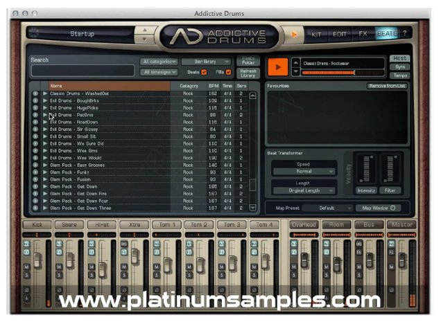 Platinum Samples Platinum Grooves 1 Lib  Multi-Format MIDI Groove Library  [download] | Full Compass
